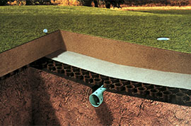 Advanced subsurface and greenroof applications